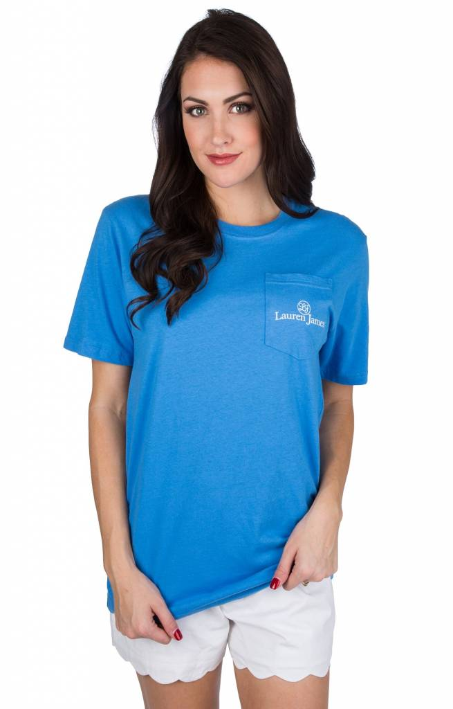 LAUREN JAMES JUST COAST SHORT SLEEVE