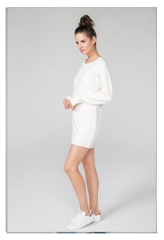 SUNDAYS NYC MIRANDA SWEATSHIRT DRESS