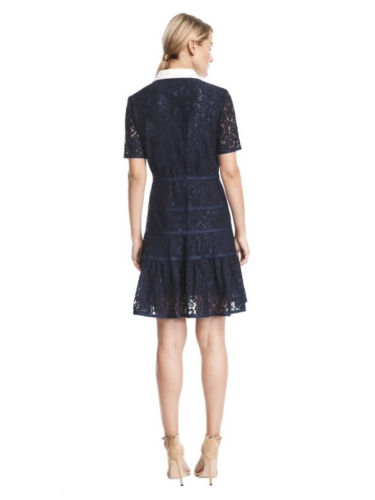 DRAPER JAMES MEADOW LACE SHIRT DRESS