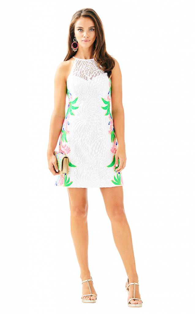 LILLY PULITZER PEARL SHIFT DRESS