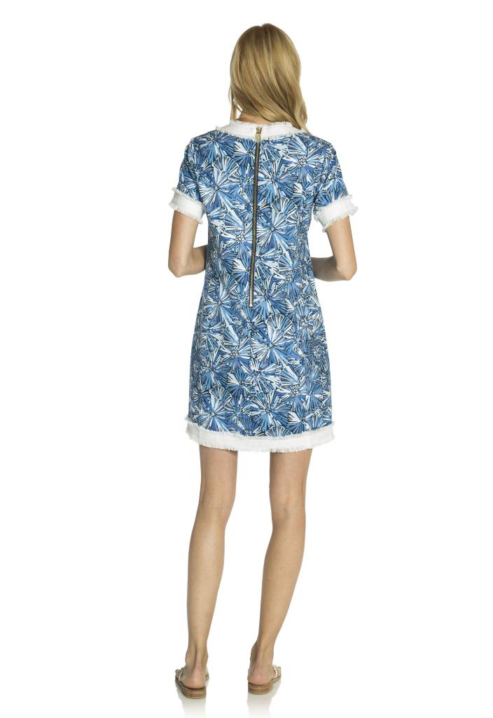 SAIL TO SABLE SUNBURST SHIFT DRESS