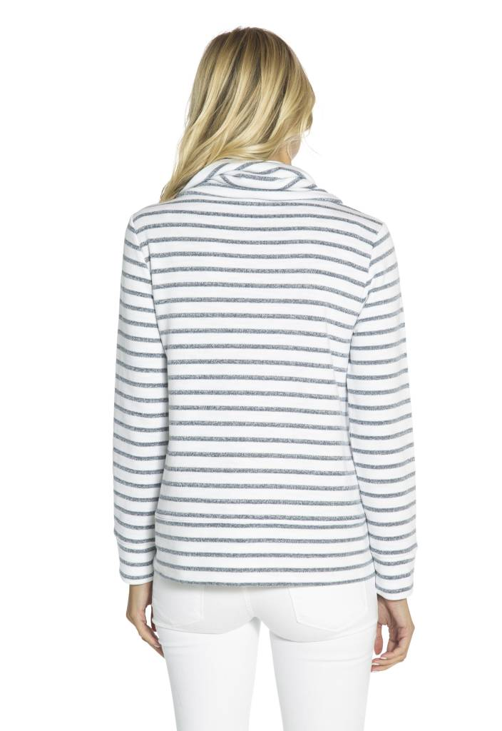 SAIL TO SABLE FRENCH TERRY TOP