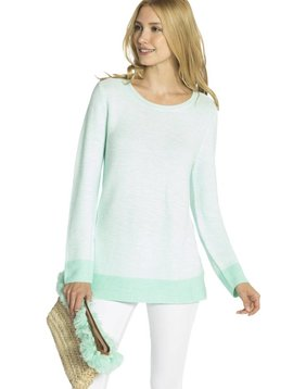SAIL TO SABLE COTTON MODAL KNIT SWEATER