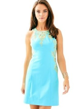 LILLY PULITZER TINA STRETCH SHIFT DRESS