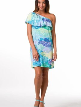 TORI RICHARD SOMETHING'S FISHY-GISELLE DRESS