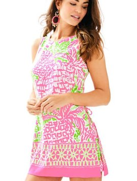 LILLY PULITZER DONNA SHIFT ROMPER