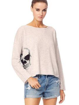 360 SWEATER LONDON CHARCOAL SKULL