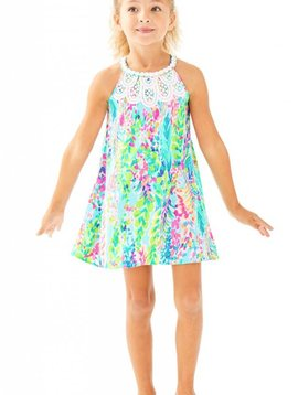 LILLY PULITZER MINI PEARL SHIFT DRESS