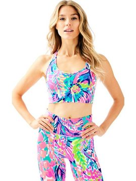 LILLY PULITZER JAYDEA SPORTS BRA