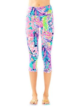 LILLY PULITZER UPF 50+ HIGH-RIRE WEEKENDER CROP