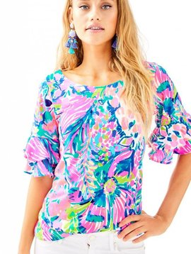 LILLY PULITZER LULA TOP