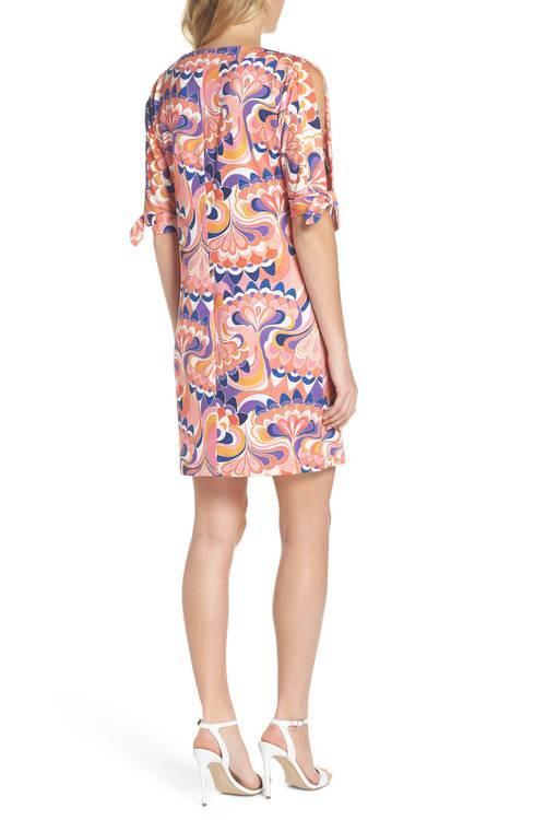 TRINA TURK VINET FLORAL JERSEY DRESS