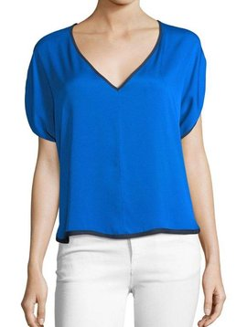 MILLY DOLMAN V NECK TOP