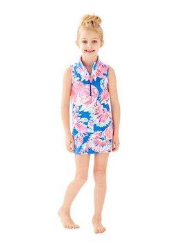 LILLY PULITZER GIRLS MINI SLEEVELESS SKIPPER SHIFT DRESS