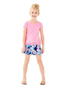 LILLY PULITZER GIRLS LEIGHTAN TOP