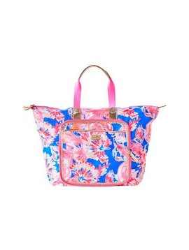 LILLY PULITZER WANDERLUST PACKABLE TRAVEL TOTE