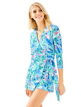 LILLY PULITZER KARLIE WRAP ROMPER