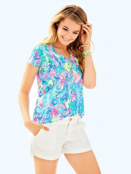 LILLY PULITZER ETTA TOP