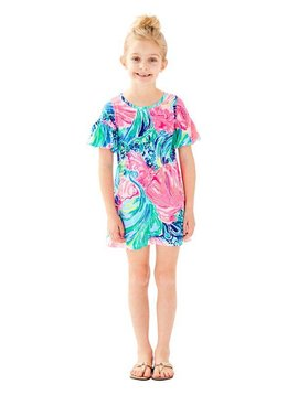 LILLY PULITZER GIRLS MINI LINDELL DRESS