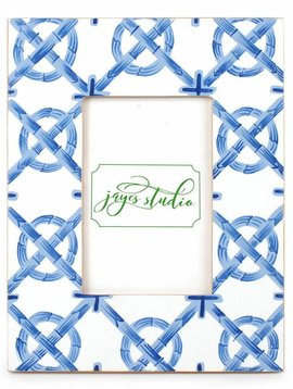 JAYES STUDIO SMALL BAMBOO TRELLIS PHOTO FRAME