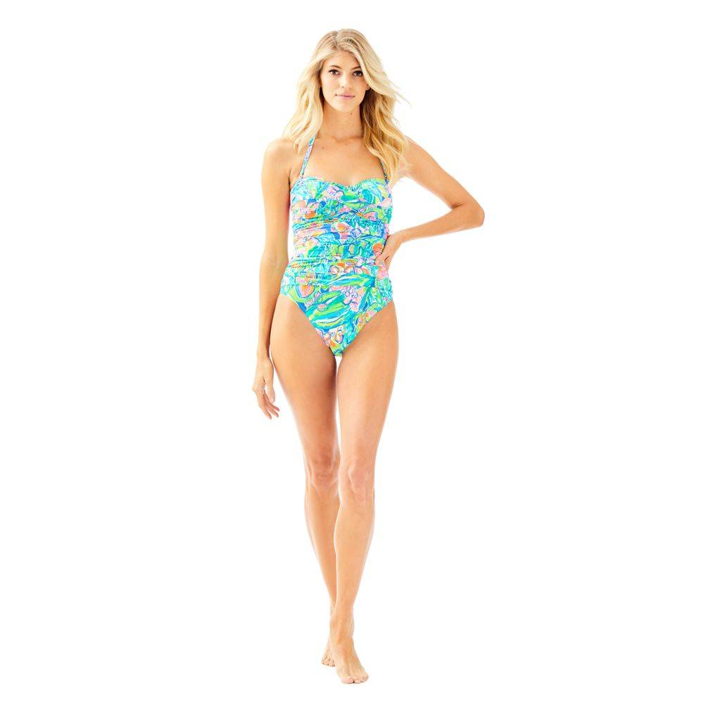 LILLY PULITZER  FLAMENCO ONE-PIECE