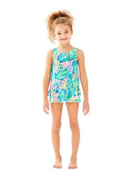 LILLY PULITZER UPF50+ LITTLE LILLY SWIM DRESS