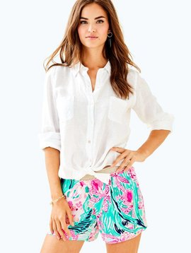 LILLY PULITZER SEA VIEW BUTTON-DOWN