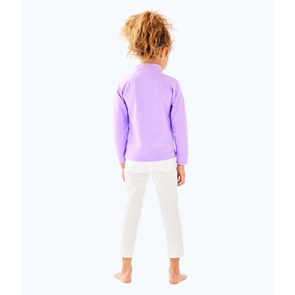 LILLY PULITZER  LITTLE LEONA ZIP UP