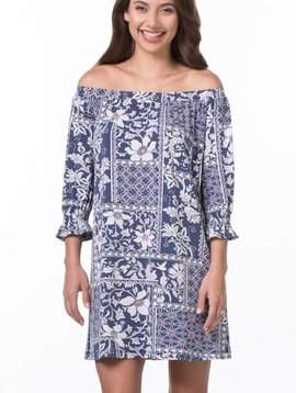 TORI RICHARD LEONORA DRESS