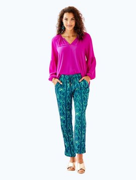 LILLY PULITZER PIPER CROP PANT
