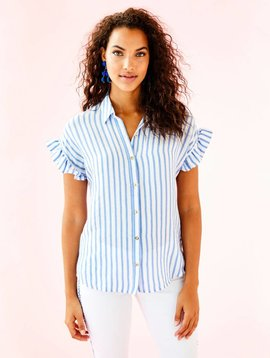 LILLY PULITZER LEIGHTON SHIRT