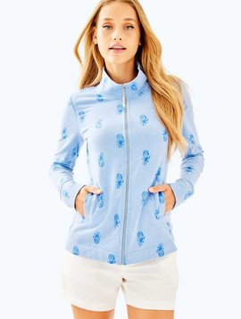 LILLY PULITZER BENNETT ZIP UP