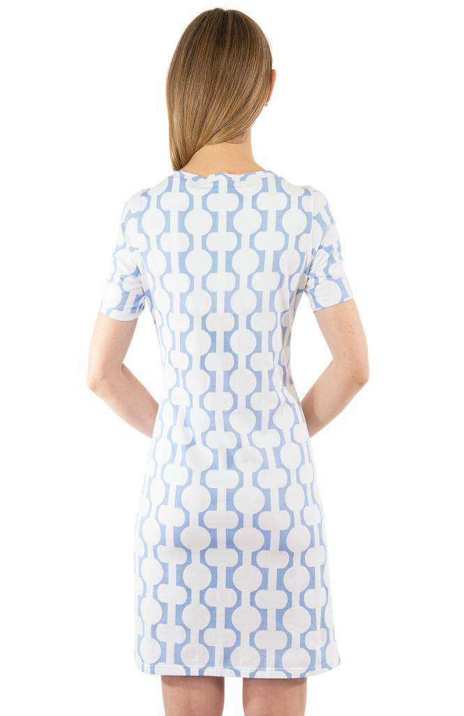 GRETCHEN SCOTT HAVANA NIGHTS T-SHIRT DRESS