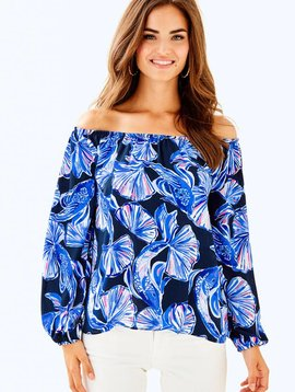 LILLY PULITZER LOU LOU TOP