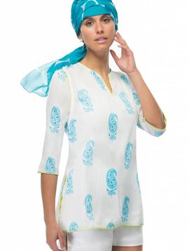 GRETCHEN SCOTT POP TUNIC - PAISLEY