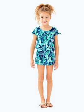LILLY PULITZER GIRLS CAMRYN ROMPER
