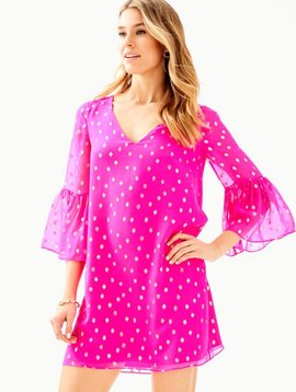 LILLY PULITZER CAROLINE SILK TUNIC DRESS