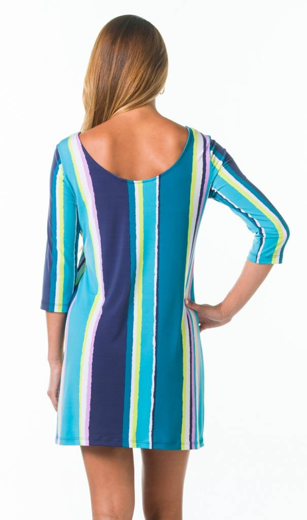 TORI RICHARD EMILY DRESS IN SHOW YOUR STRIPES
