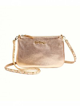 LILLY PULITZER STUDDED LEATHER CRUISIN CROSSBODY