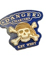 Bicast Skull and Crossbones Magnet