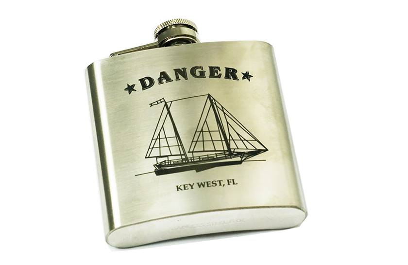 Danger Boat Flask
