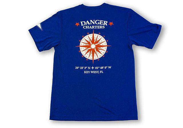 Short Sleeve SPF- Compass Logo