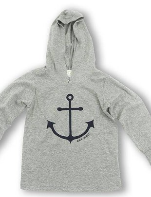 tidal effects Youth Lighthouse Hoodie