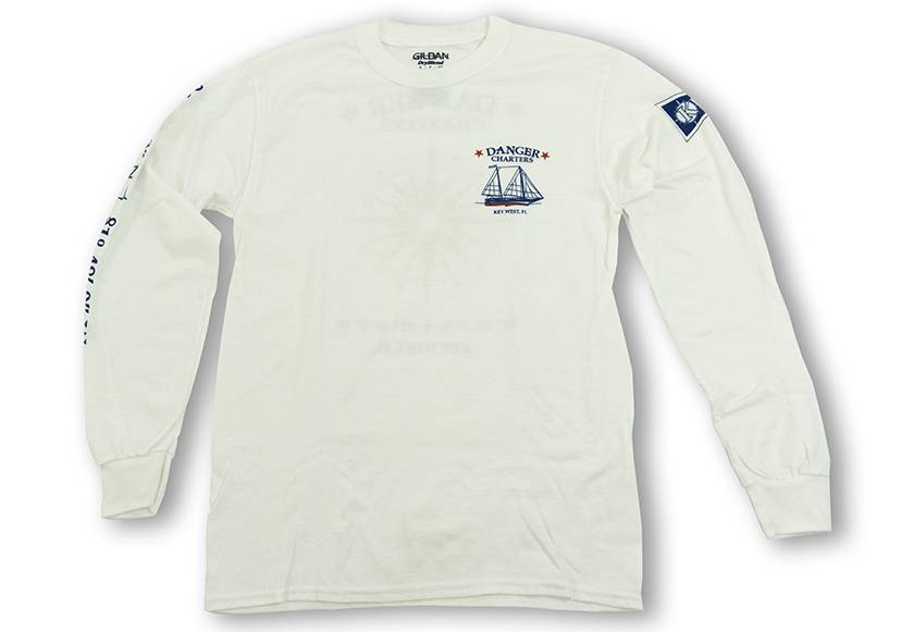 Long Sleeve Tee- Compass Logo