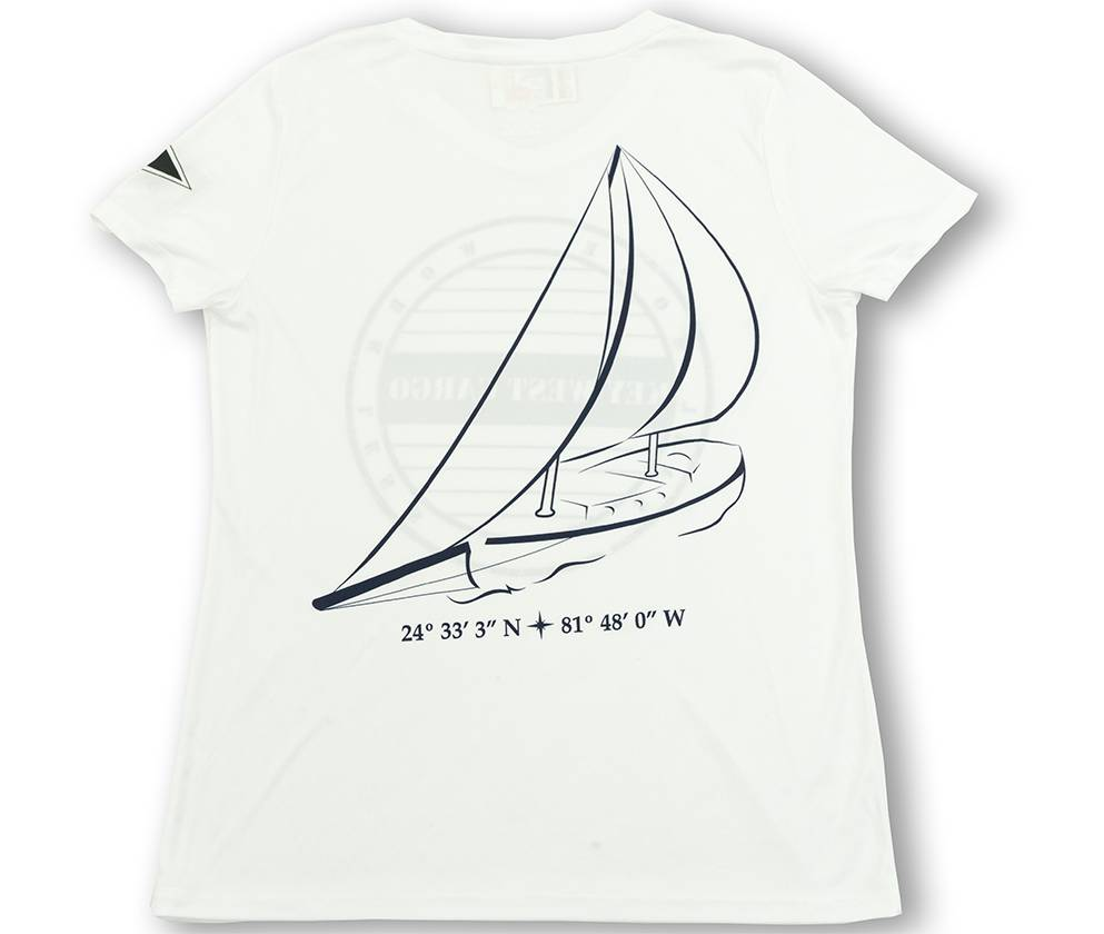 Key West Cargo V-Neck Tee