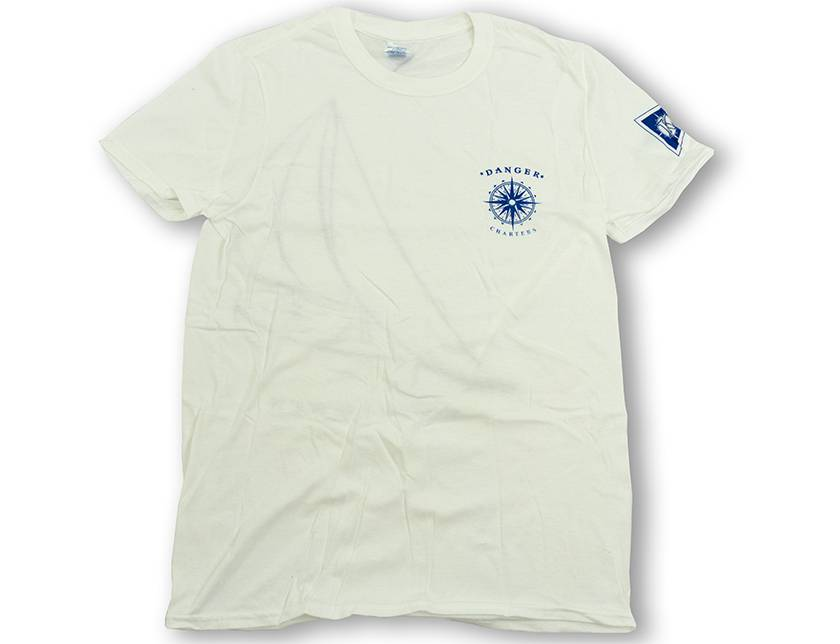Hanes Short Sleeve Tee- Whimsical Sailboat Logo