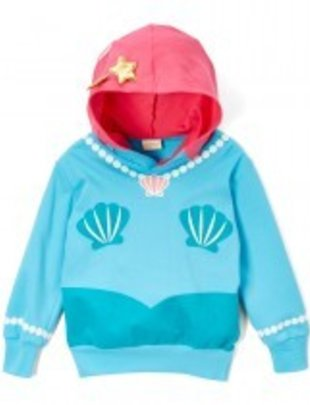 Doodle Pants Mermaid 3D Hoodie - 5 Toddler