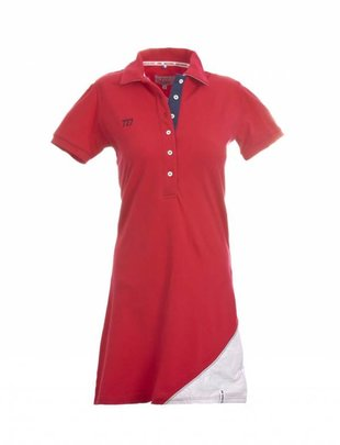 Spirit of Brittany Spirit of Brittany Polo Dress-Red-