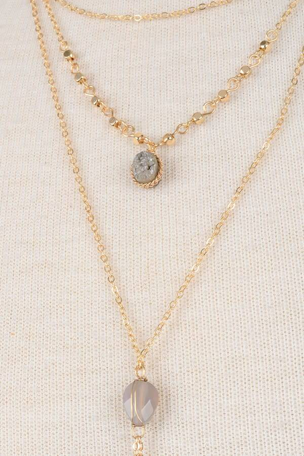 necklace ashianaforhurleyburley teardrop semi original by gemstone ashiana product london precious gold