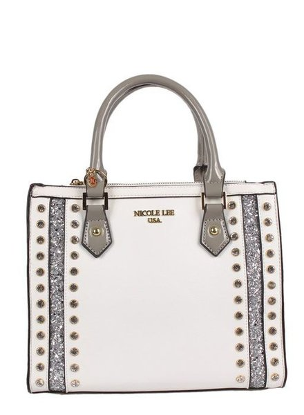 Nicole Lee White Handbag